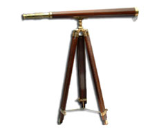 Taper Wood Stand Telescope