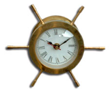 Table Wheel Clock