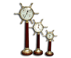 Set of Three-Stand Clock