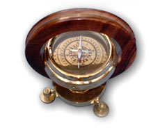 Four Way Compass with Stand