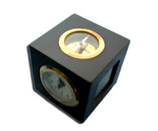 Photo Frame Clock with Compass