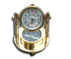 Stand Clock with Compass