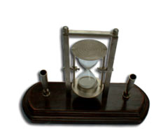 Pen Holder Sand Glass Timer