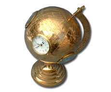 Globe with World Time