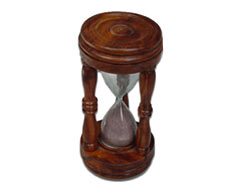Wood Sand Glass Timer